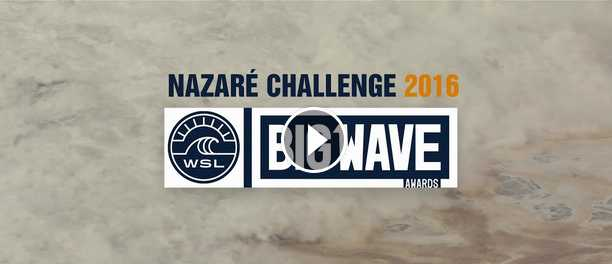 Nazaré Challenge 2016 BIG WAVES Portugal