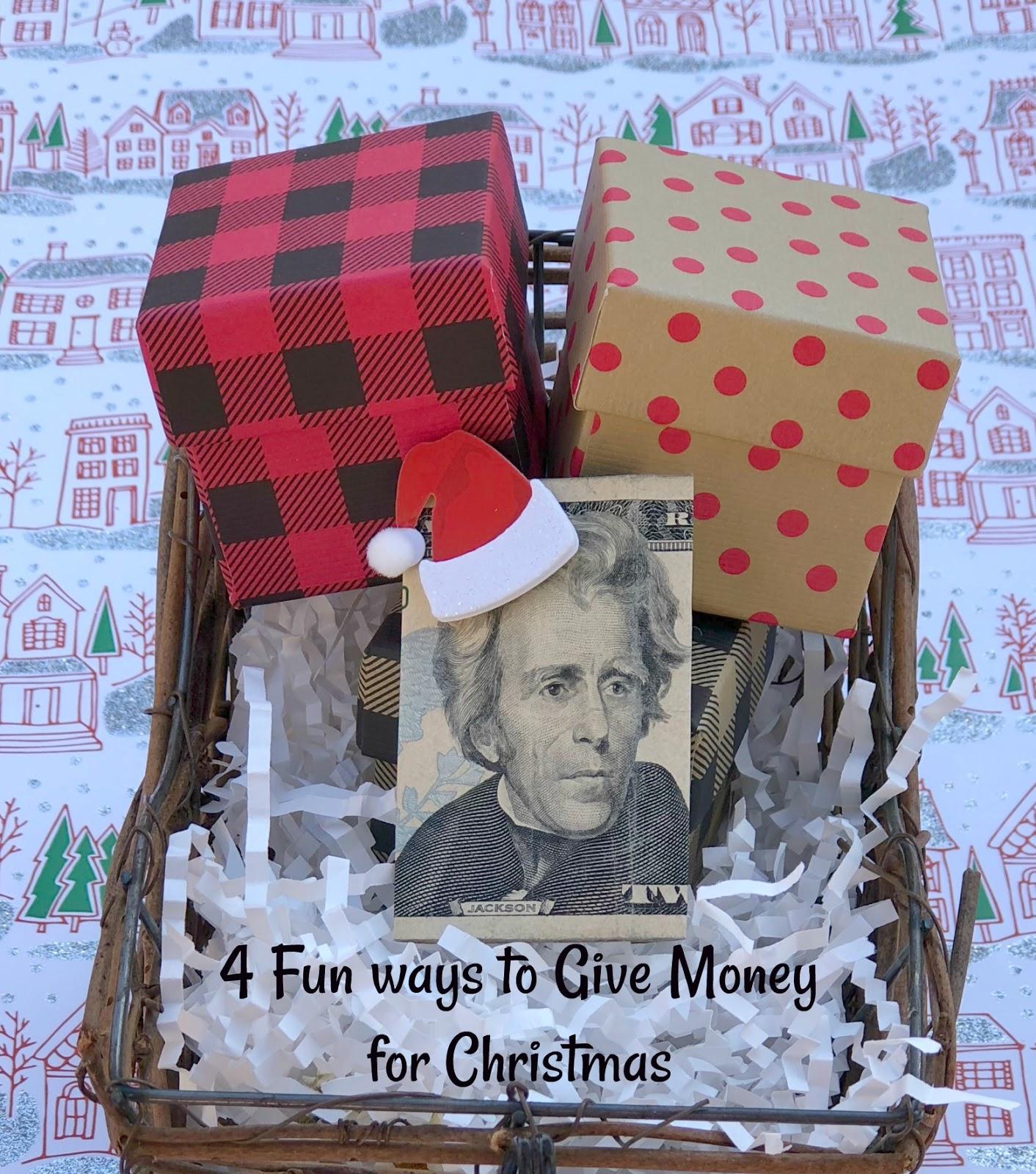Jac o' lyn Murphy: 4 fun ways to give money for Christmas
