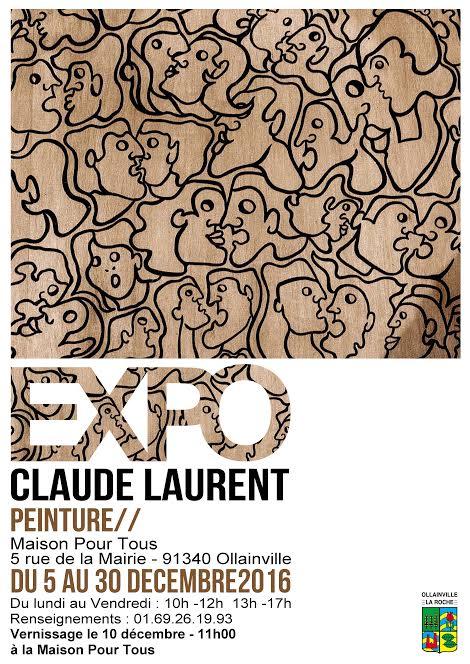 Exposition de Claude LAURENT à Ollainville
