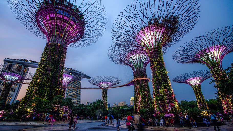 Romantic Places to Visit on your Singapore Honeymoon