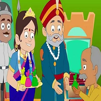 HINDI KIDS MORAL STORY | राजकुमारी और जादुई आईना |