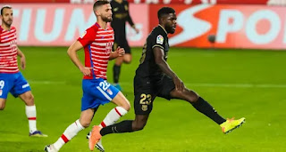 Koeman and Griezmann impressed with Umtiti Samuel dazzling performance vs Granada