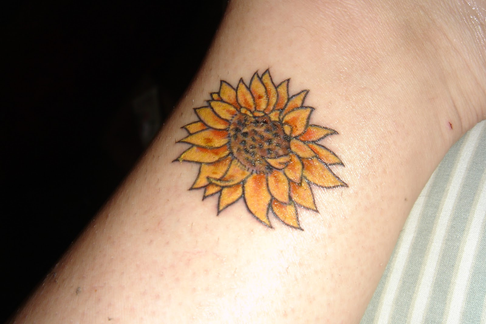 """Small Sunflower Tattoo Designs: Life Meets Ministry: Tattoo And A Boob Job, Or, """"The"""