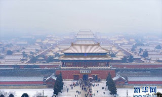China maintains blue alert for snowstorm