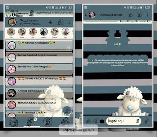 Animal White Theme For YOWhatsApp & Fouad WhatsApp By Thania