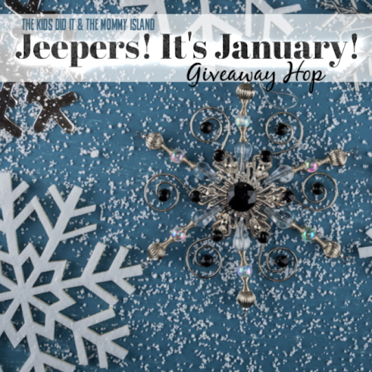 Jeepers! It's January! Giveaway Hop