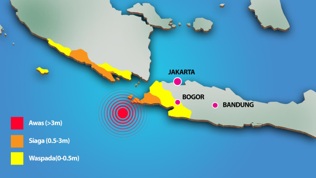 Peneliti ITB: Ada Potensi Tsunami Setinggi 20 Meter di Pulau Jawa