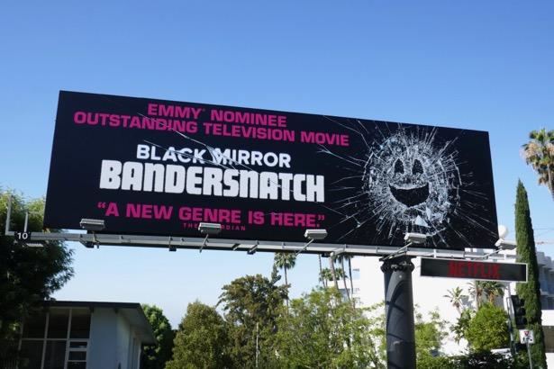 Black Mirror Bandersnatch Emmy nominee billboard