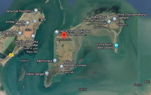 बेट द्वारका एक सुंदर द्वीप और धार्मिक स्थान - Beyt Dwarka in hindi