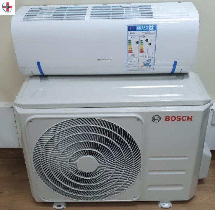 Installing an air conditioner