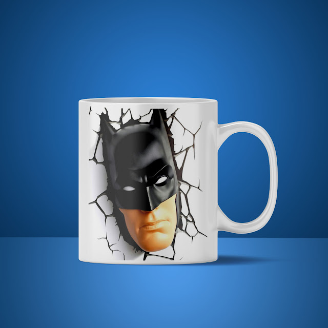 Contoh Mockup Mug Custom Gratis