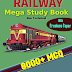 Railway Mega Study Book 8000+ by TR Solutions (Powered by EKDN)