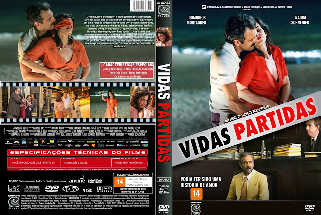 Capa DVD Vidas Partidas
