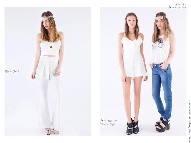 Moda pantalones verano 2017 La cofradía. Moda 2017.