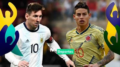 مشاهدة مباراة الارجنتين وكولومبيا بث مباشر اليوم