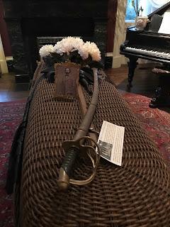 Coffin at Houmas House