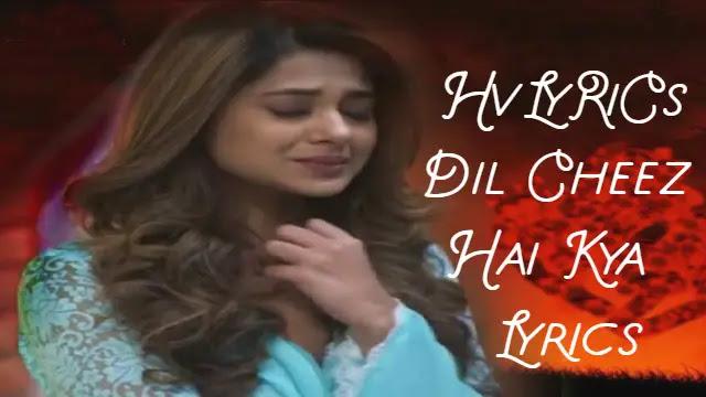 Dil Cheez Hai Kya 2 Lyrics, Dil Cheez Hai Kya 2 Lyrics in hindi, Dil Cheez Hai Kya 2 Lyrics rahul jain,
