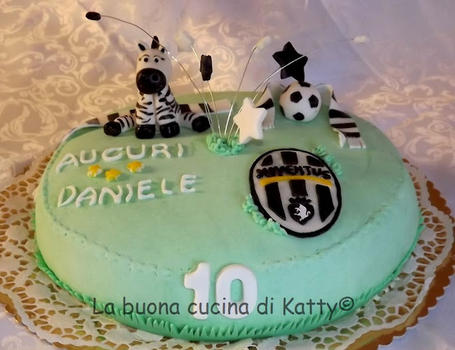 La buona cucina di Katty Torta Juventus per il compleanno