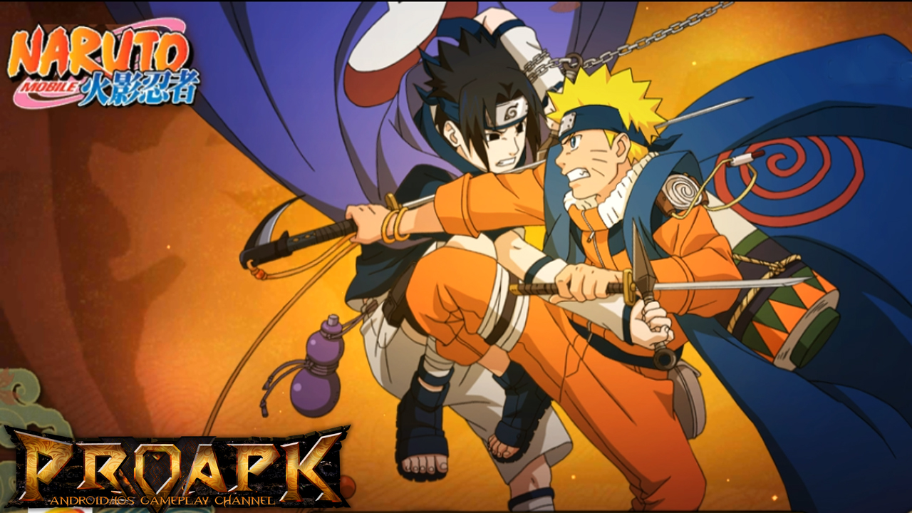 Naruto Mobile CN Gameplay IOS Android