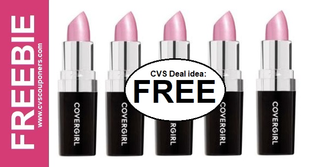 Free CoverGirl Lipstick Deal at CVS 3-1-3-7