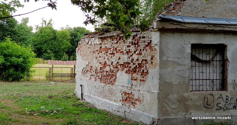 Warszawa Warsaw osiedle oficerów Wojska Polskiego Fort Bema architektura wojskowe  opuszczone