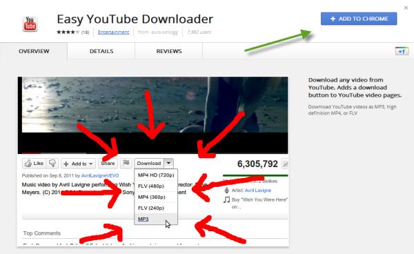 ดาวน์โหลดคลิปจาก Youtube ง่ายๆ ด้วยตัวคุณเอง [Chrome] - Thasnai
