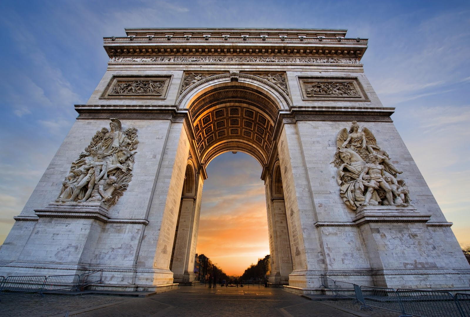 arc de triomphe paris 1806 1836 tutt 39 art pittura scultura poesia musica. Black Bedroom Furniture Sets. Home Design Ideas