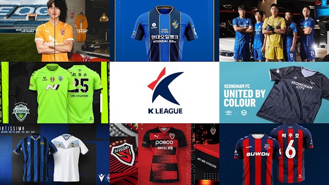 K League 1 2021 Kits