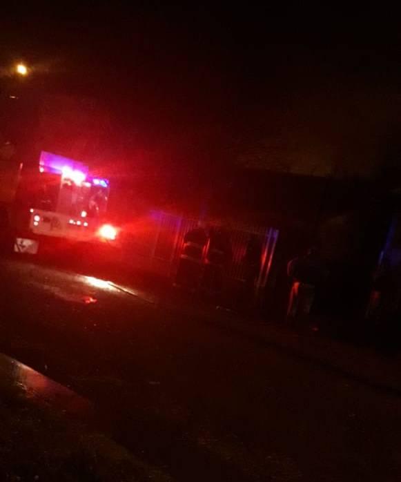Se incendio una vivienda en las 126 Viviendas
