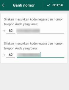 Cara Mengganti Nomor Whatsapp Tanpa Keluar Dari Grup