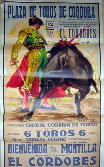 Resultado de imagen de Alternativa de El Cordobés en 1963