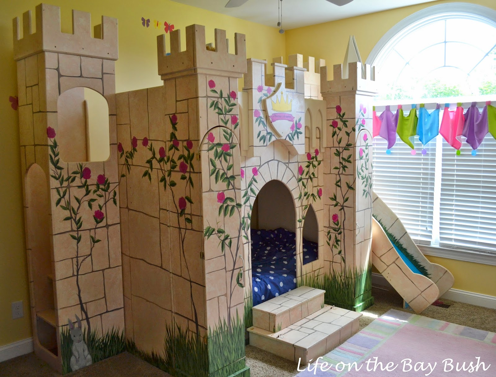 Castle Bunk Beds How To Bribe Your Children To Sleep By Themselves Life On The Bay Bush