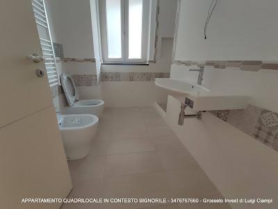appartamento-quadrivano-vendita-Grosseto-stadio, bagno finestrato