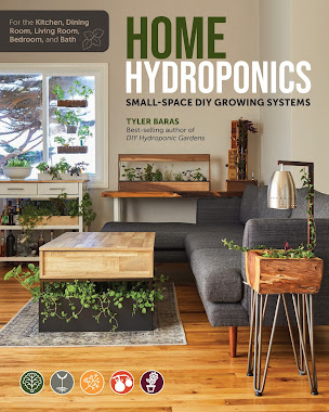 BOOK REVIEW: HOME HYDROPONICS BY TYLER BARAS