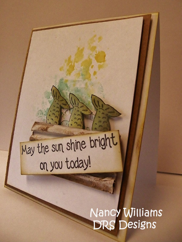 DRS Designs Rubber Stamps: Fishy and Bright