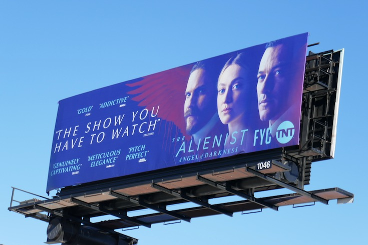 Alienist Angel of Darkness FYC billboard