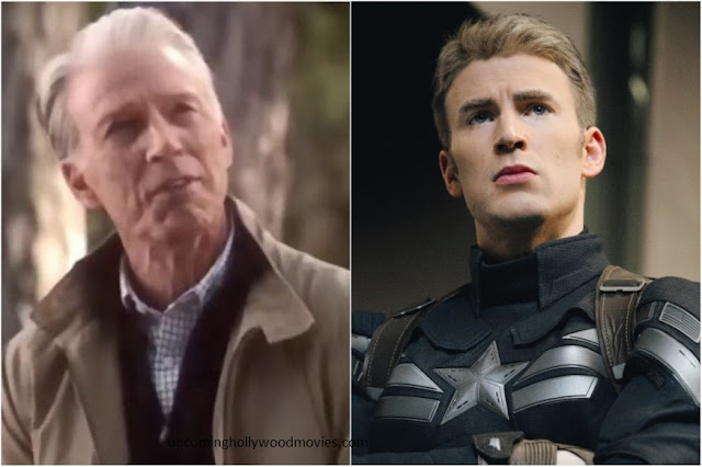 Why captain america was shpwn old in averngers endgame