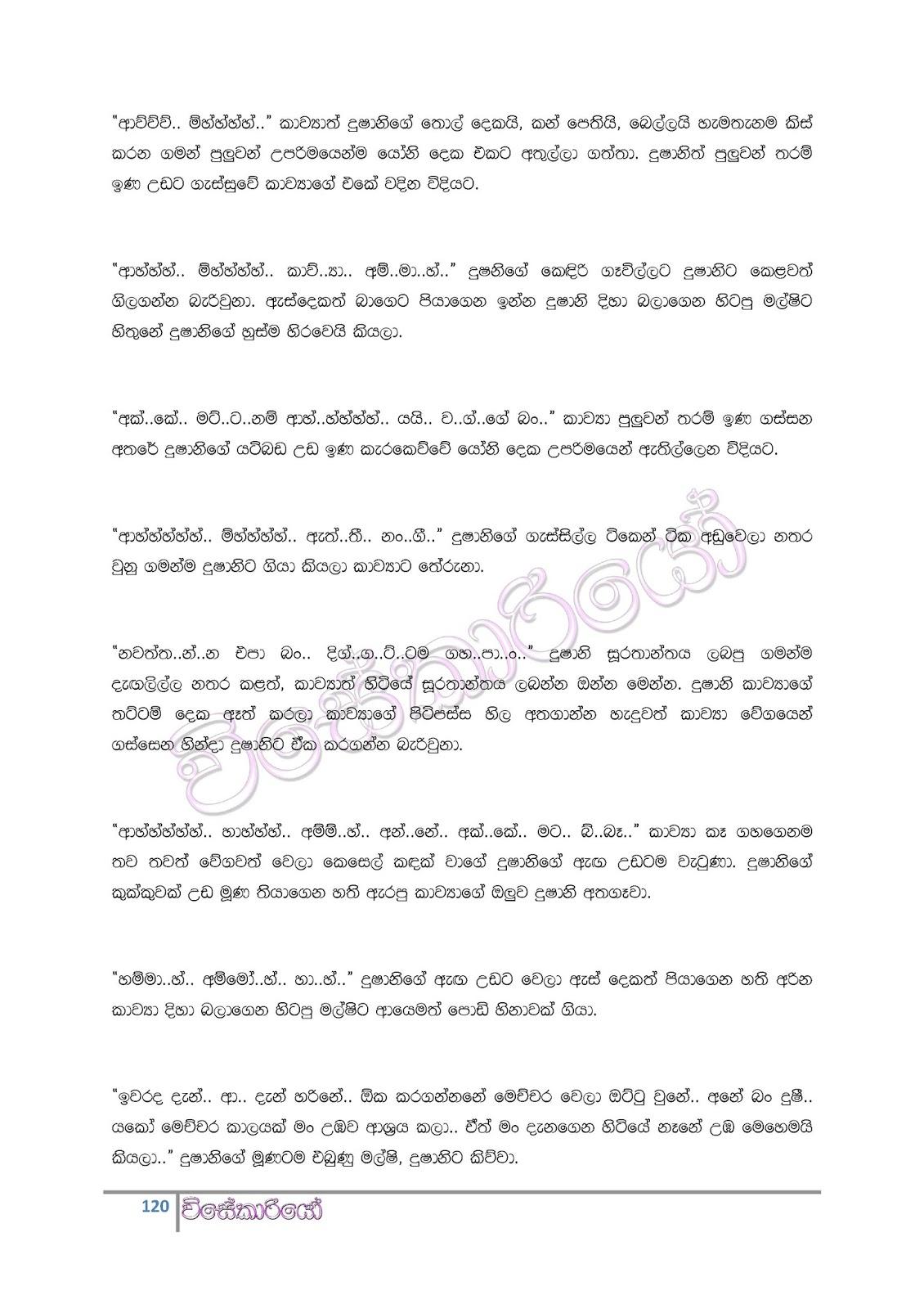 Wal Katha: Wal Katha Wela Katha Sinhalen