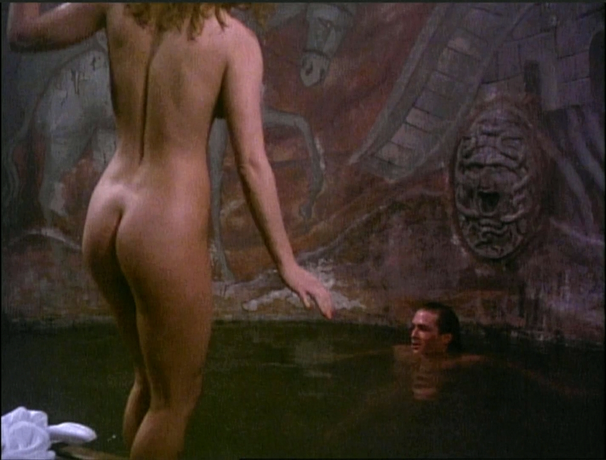 Mary Stävin (Miss World 1977) titties in Howling V: The ...
