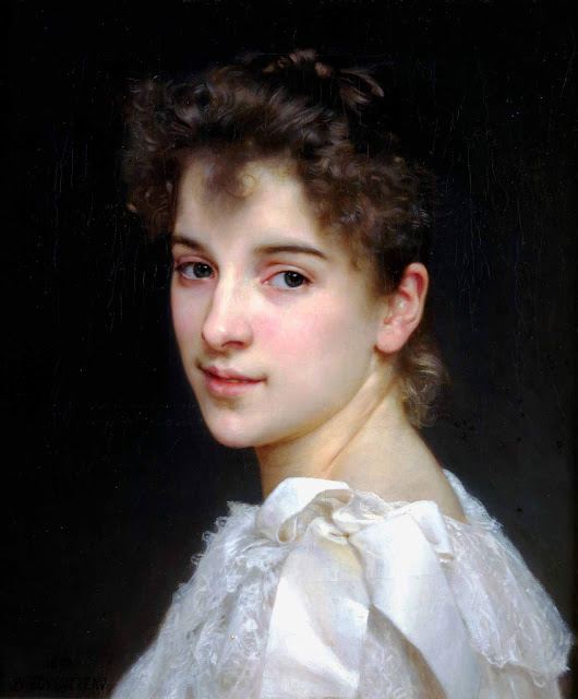 Адольф Вильям Бугро - Портрет Габриэль Кот (1890)