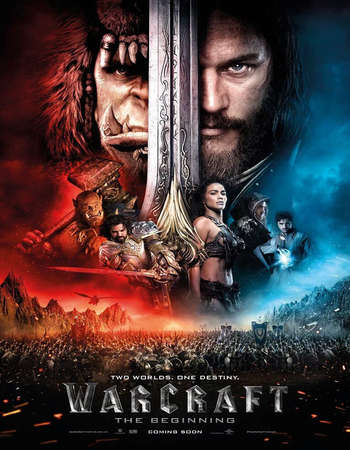 Poster Of Warcraft 2016 Dual Audio 170MB HDTC HEVC Mobile ESubs Free Download Watch Online Worldfree4u