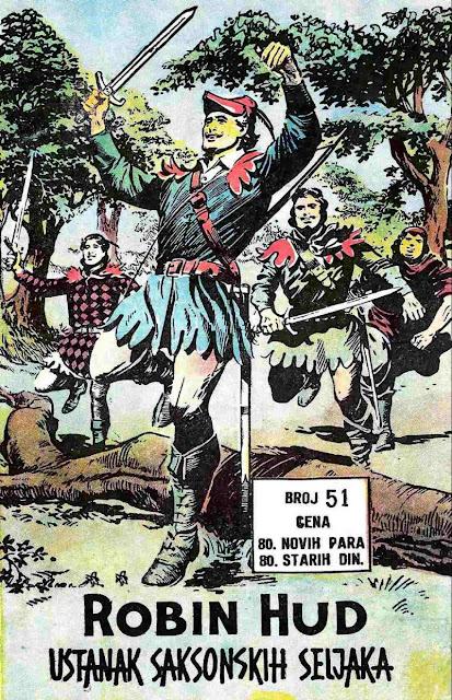 Ustanak saksonskih seljaka - Robin Hud