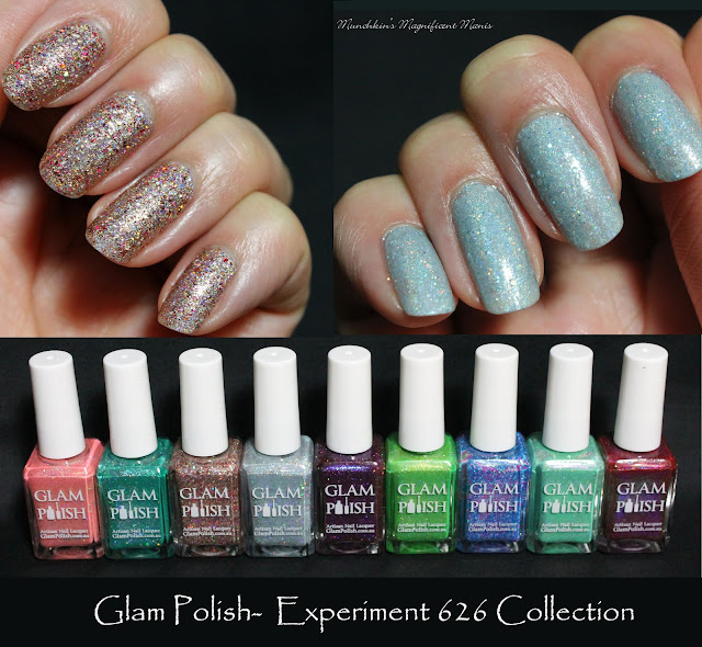 Glam Polish- Experiment 626 Collection; Lilo, You Lolo and Model Citizen