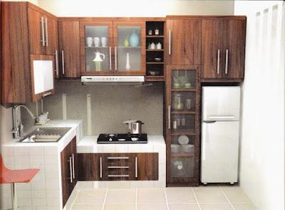 Gambar Meja Dapur Cor Minimalis Pilihan Untuk Anda