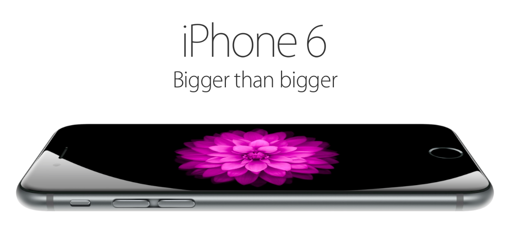 Apple introduces their new iPhone 6 and iPhone 6 Plus