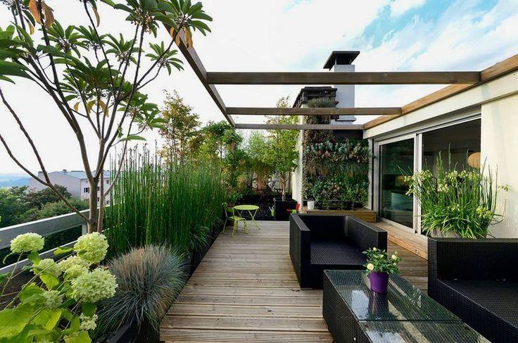 Desain Rumah Tingkat Atas Taman