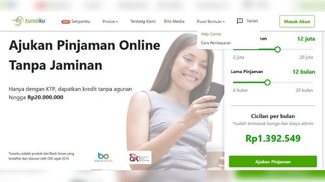Cara Mengajukan Pinjaman Online di Aplikasi Tunaiku