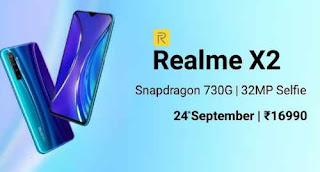 Realme X2 Dengan Layar Super AMOLED