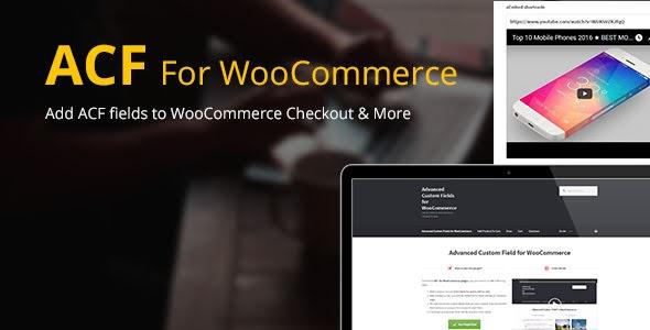 Advanced Custom Fields for WooCommerce v4.2 Nulled