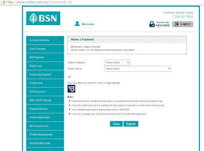 Cara Membuat Bayaran Pinjaman PTPTN dengan Menggunakan JomPAY Mybsn